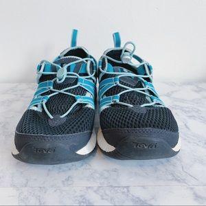 EUC Teva Hiking Sandals Sport Shoes Blue sz 8